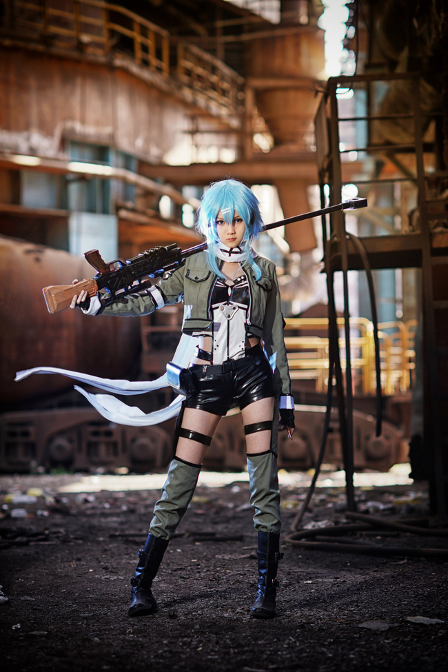 Sinon Cosplay Anime Cosplay Costume